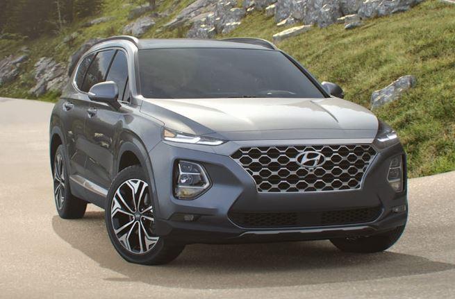 Hyundai Santa Fe Colors Color Option For Hyundai Sante Fe 2020